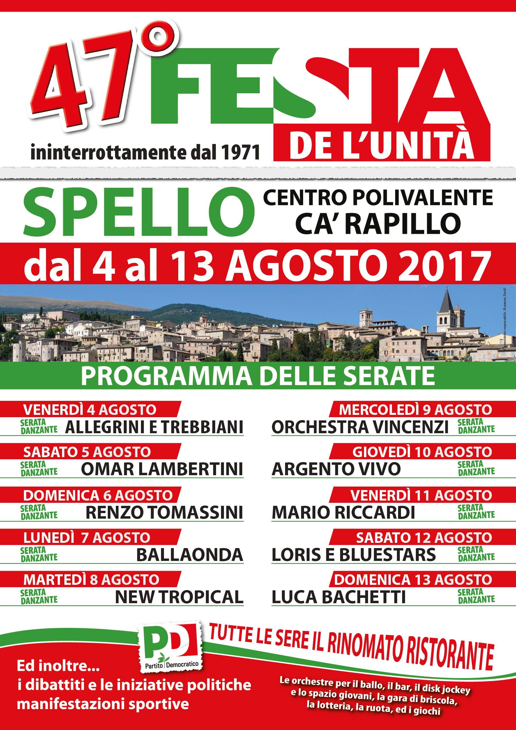 volantino A5 festa democratica 2017-01